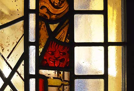 Hand Painted Stained Glass Windows 'Fragments'