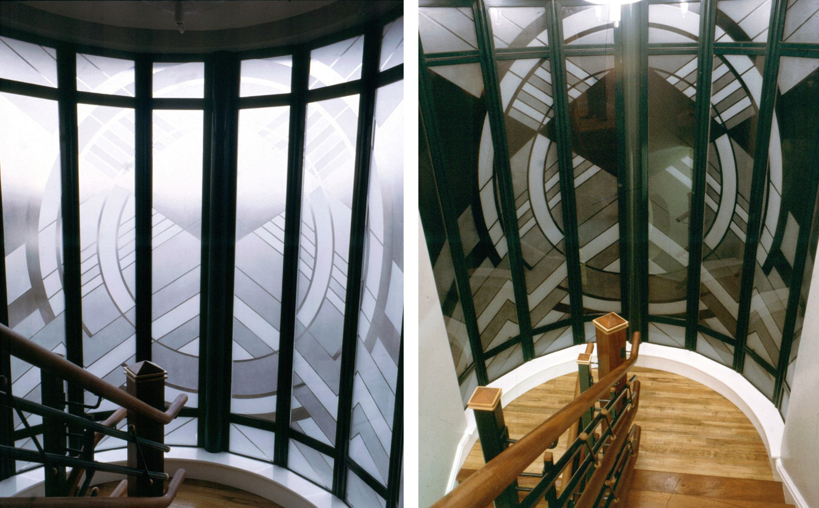 Designer Glass Windows Doors by day and night