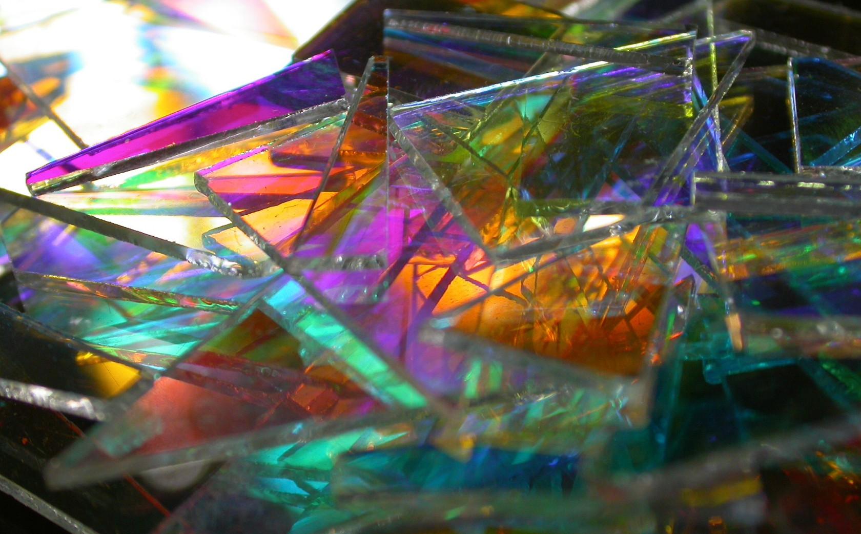 Dichroic Glass Artist Light Paqintings