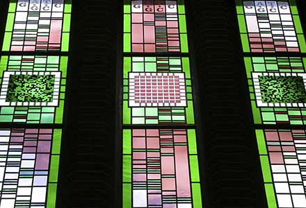 Stained Glass Windows 'Knowledge'