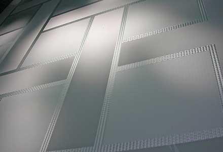 Designer Glass Screens – Lattice