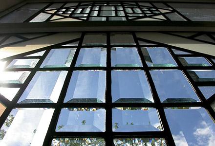 Monochrome Stained Glass Windows