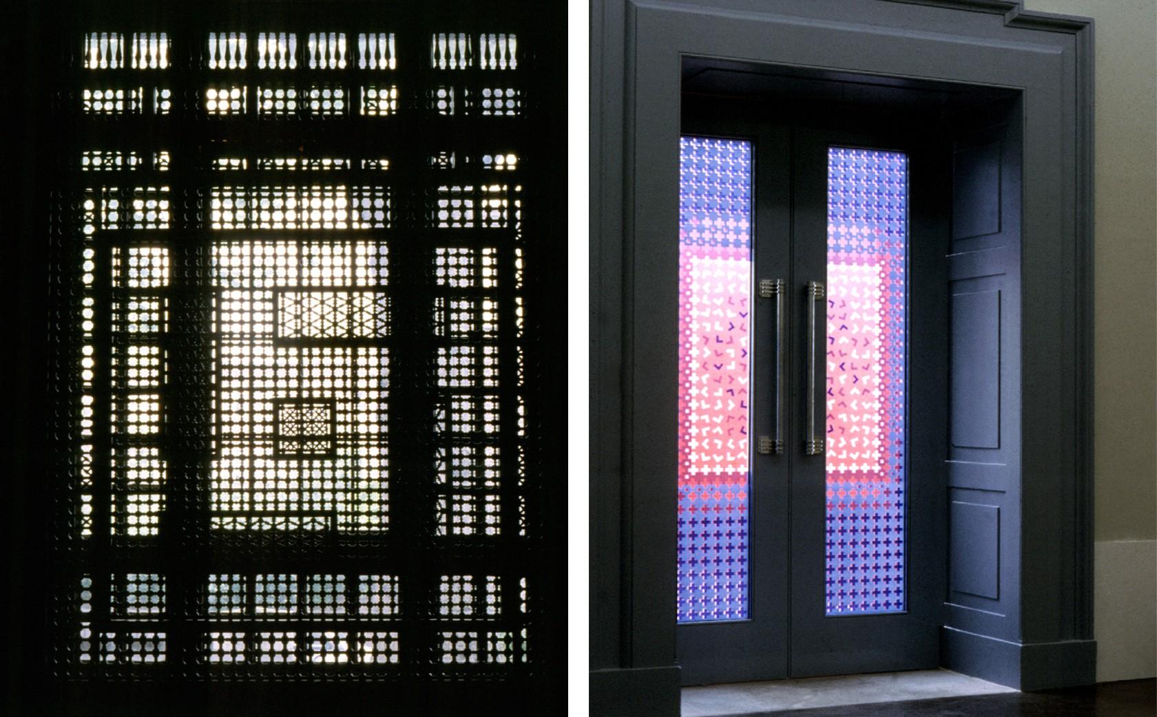 the Damascene Musharabiyeh Islamic Screens and Contemporary Glass Screens