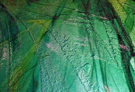 Slumped Glass Wall Art