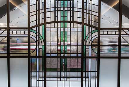 Art Deco Stained Glass 'reinvented'