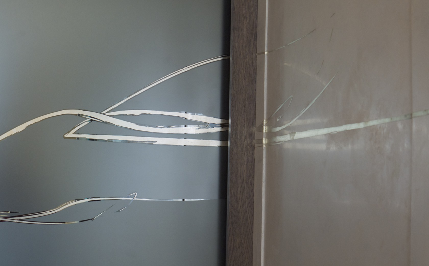 Designer glass screens