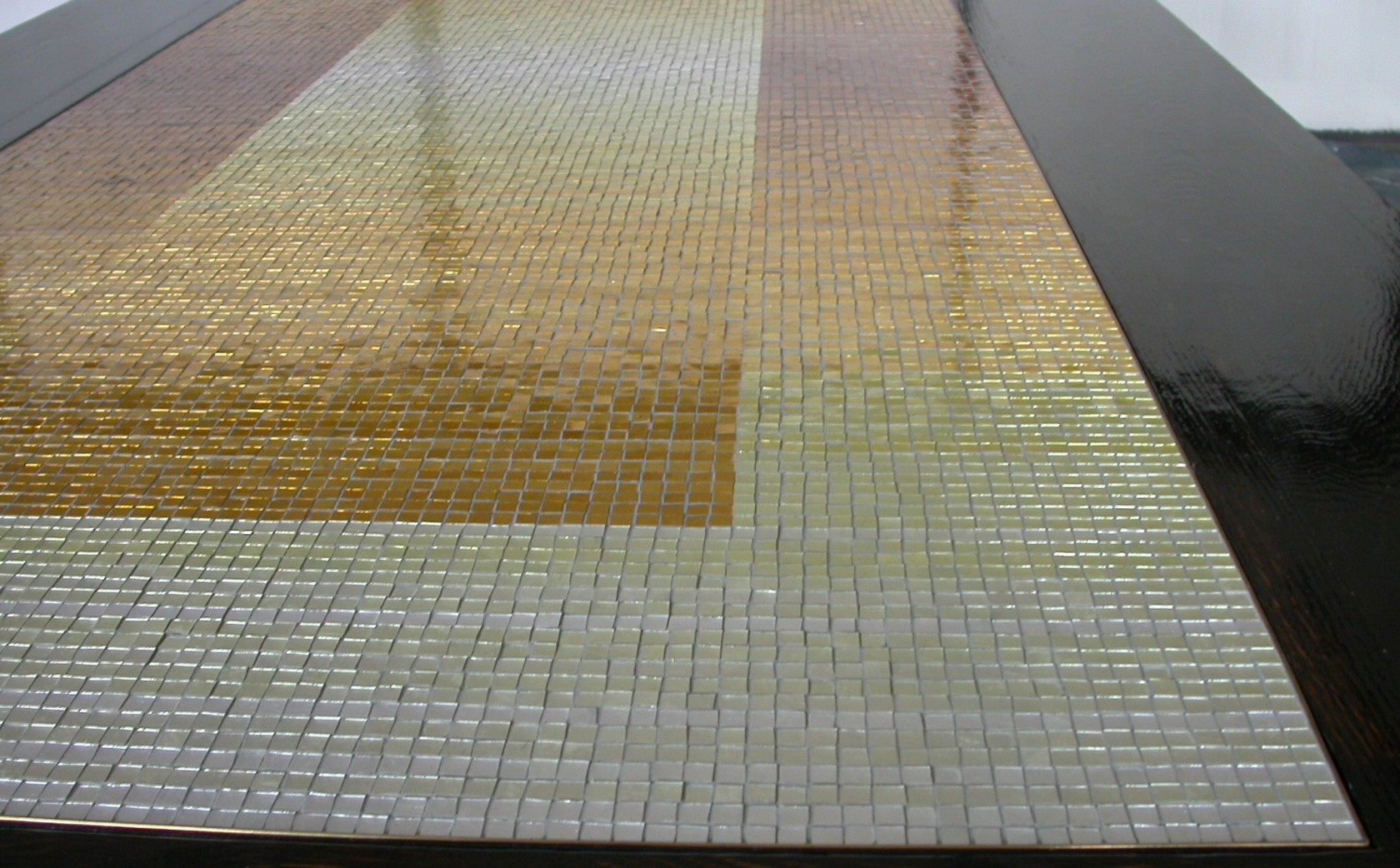 Gold Leaf hand produced Mosaic