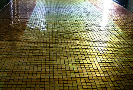Gold Leaf Mosaic 'Tapestry of Light'