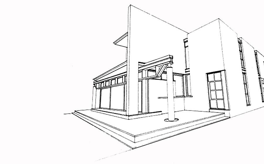Civic Trust Awarded House - Stephen Donald Architects
